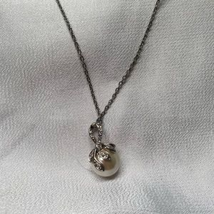 """Antique style Pearl necklace 16-18"""""""